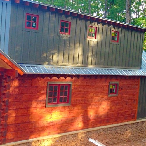 Florida Log Home Project 4