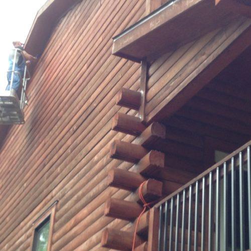 Log Home Repair | Florida