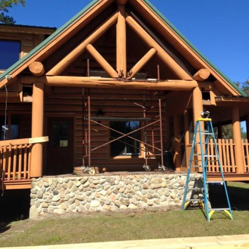 Log Home Restoration | Florida