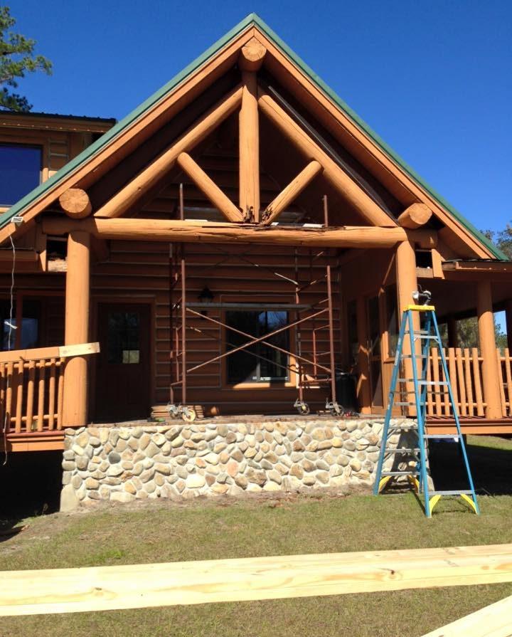 Log Home Restoration   Florida